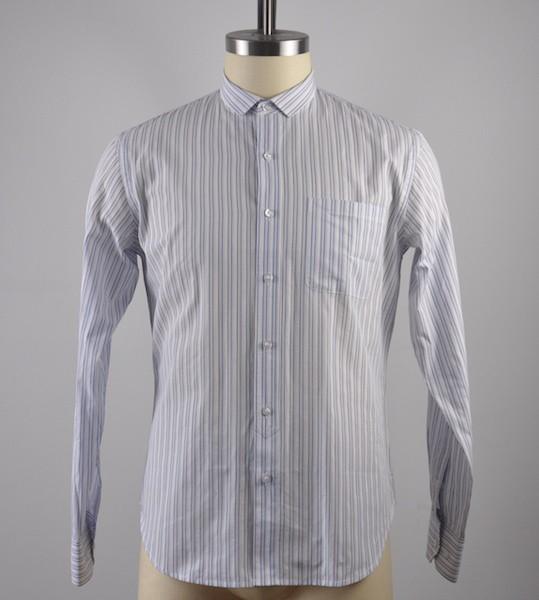 100%extra fine cotton yarn dyed stripe L/S shirts